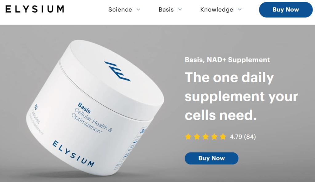 anti-aging supplements Elysium