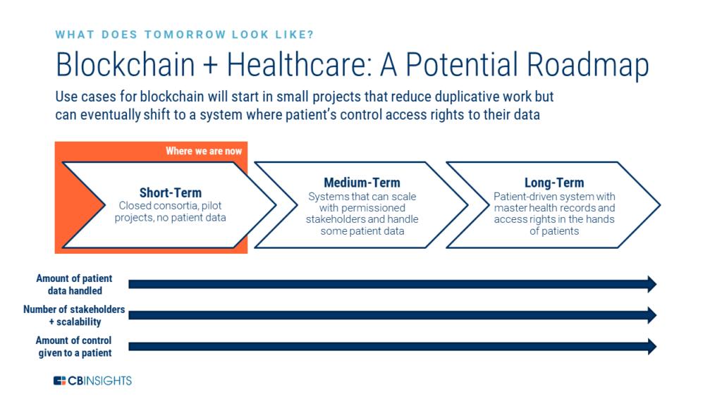 blockchain healthcare potential roadmap