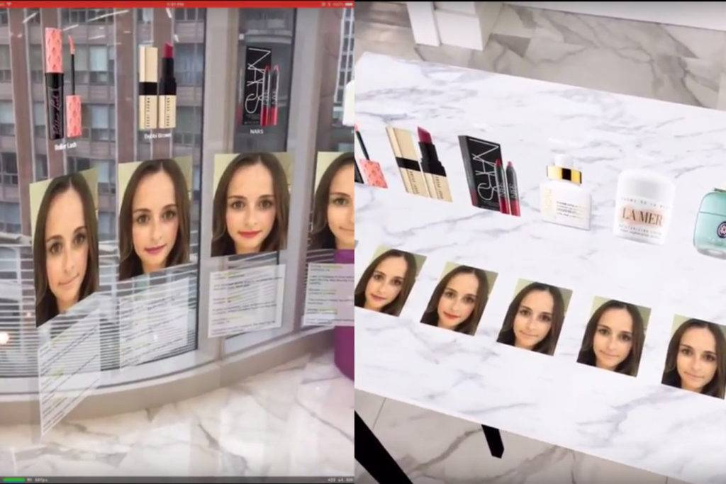 modiface arkit virtual makeup try-on