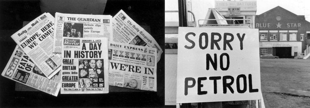 photos from the 1973 economic downturn
