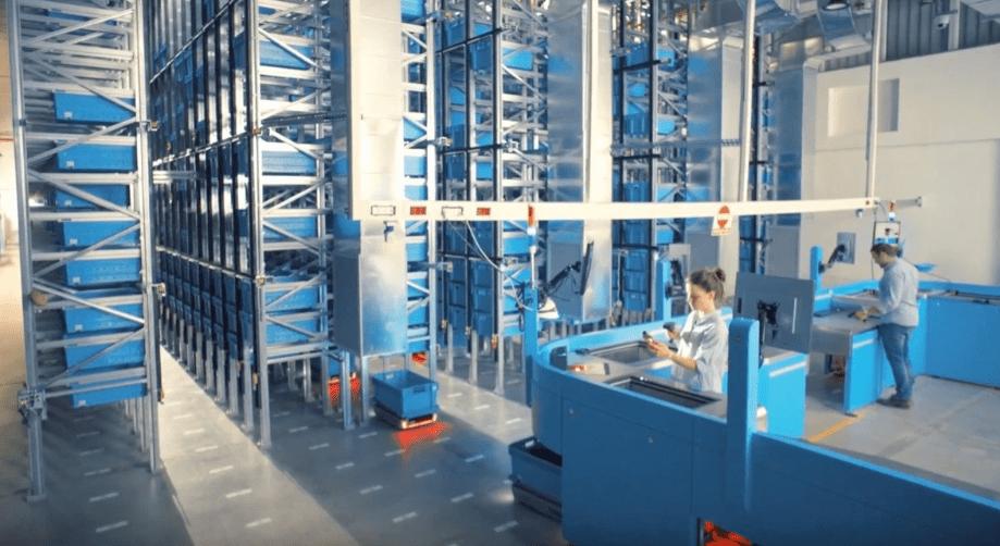 microfulfillment center warehouse