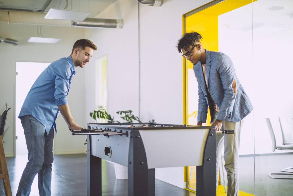 startup breakroom