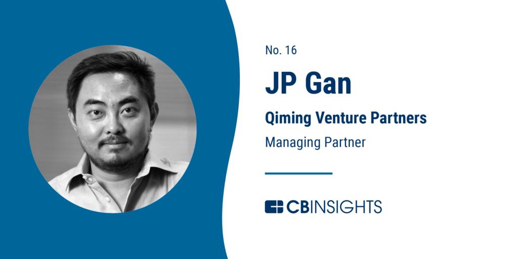 Top Venture Capitalists JP Gan Qiming Venture Partners