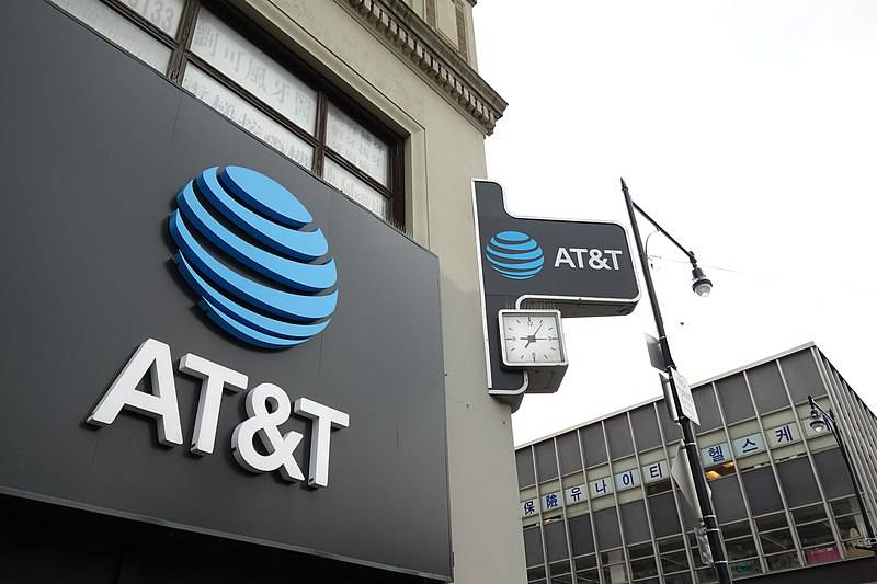 Exterior of an AT&T retail store.