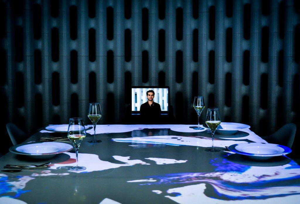 Kitchen Theory virtual chef and multisensory dining