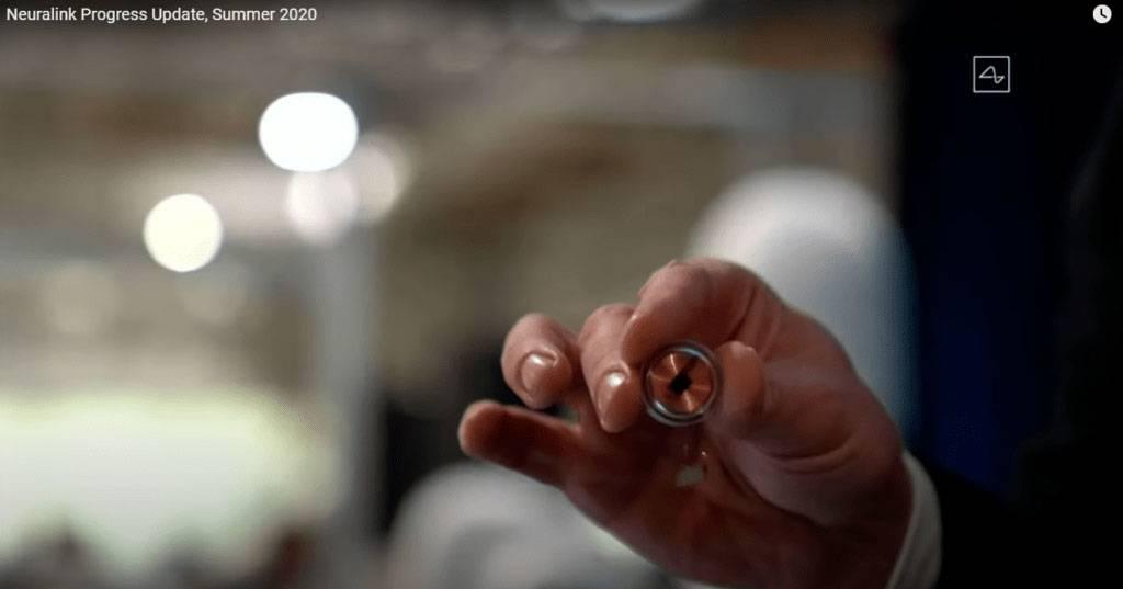 Neuralink's coin-sized brain chip