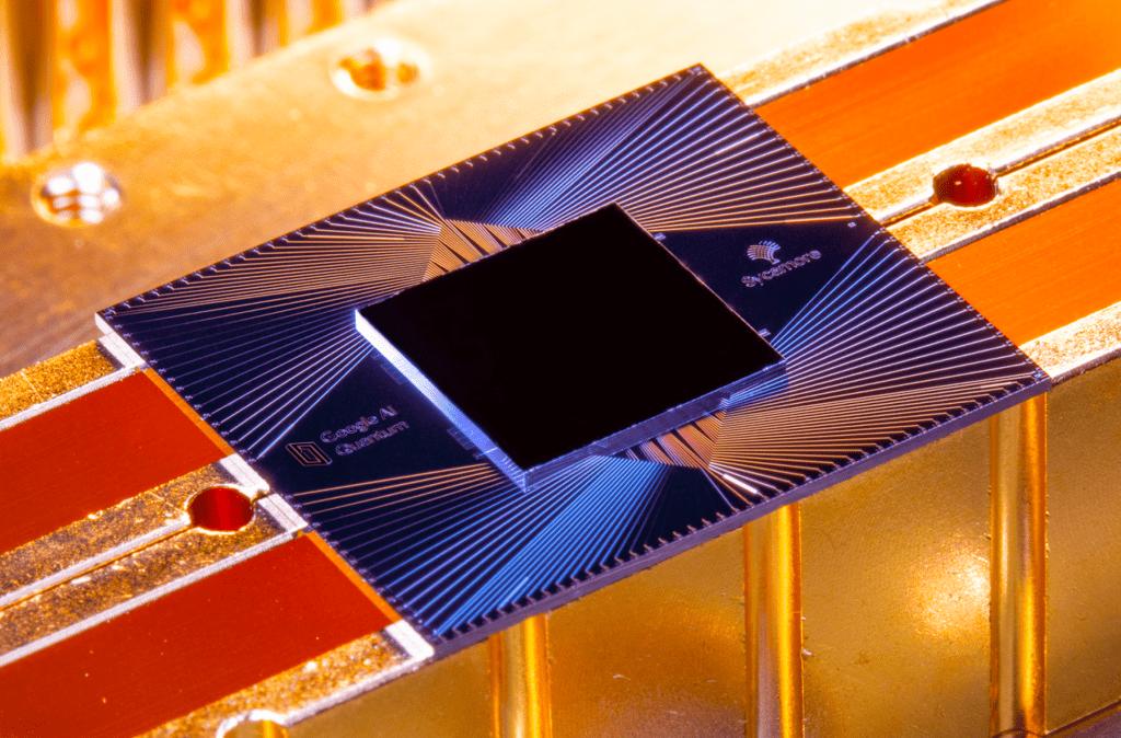 Google Sycamore processor for quantum computing