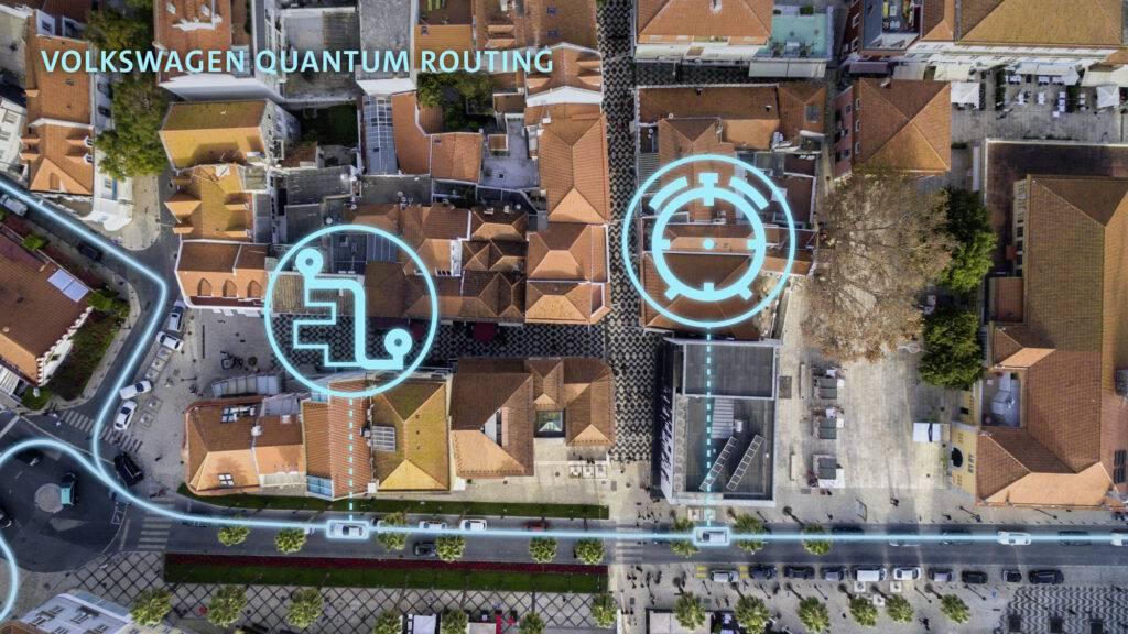 Optimizing traffic flow with quantum computing