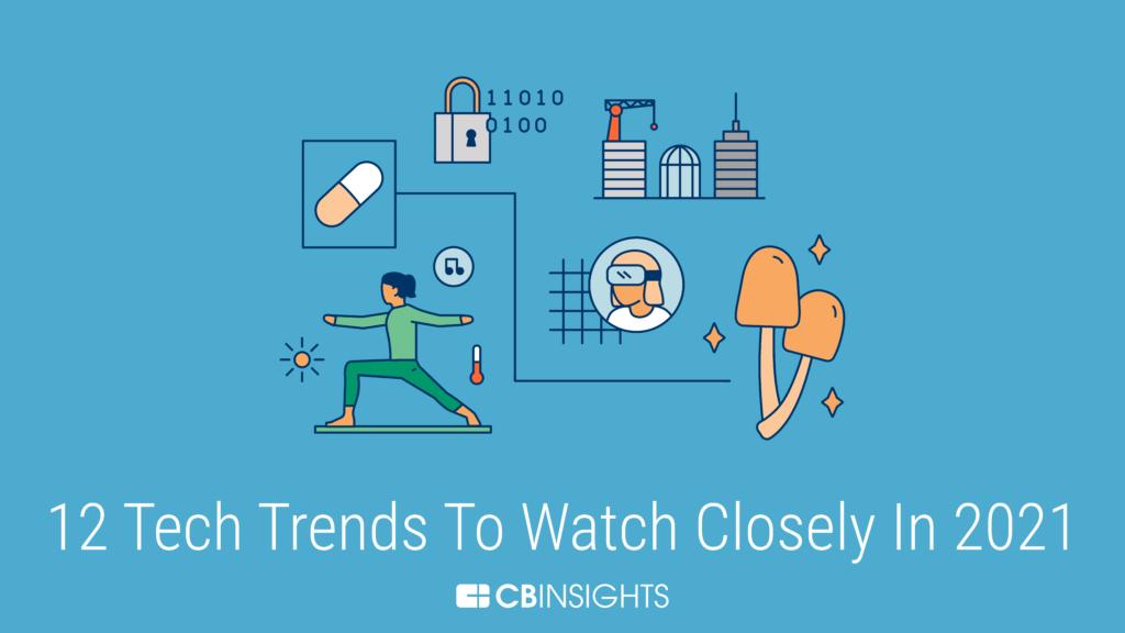 CB Insight预测2021年最值得关注的12大科技趋势