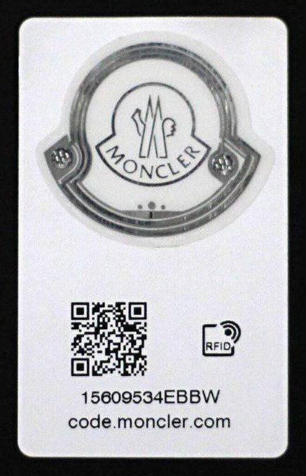 Moncler's RFID chip to fight counterfeit luxury products