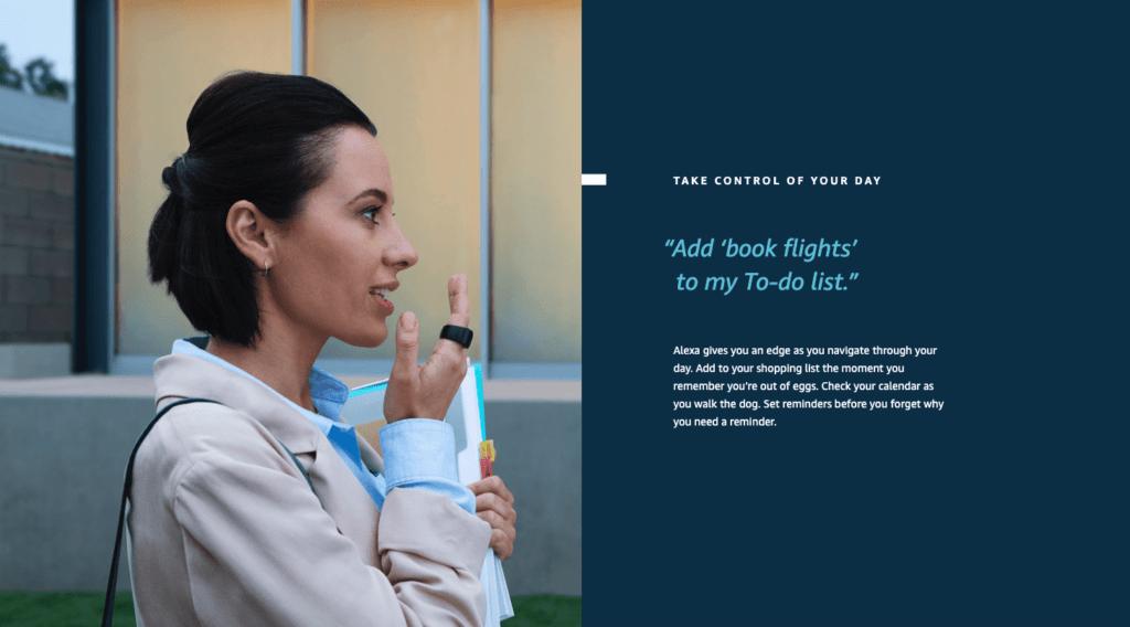 Amazon Echo Loop smart ring