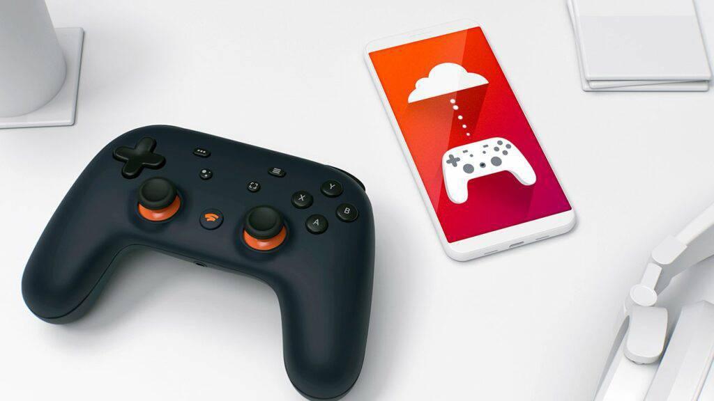 Google Stadia gaming device