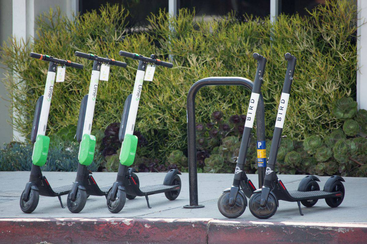 Lime and Bird Scooters: Alphabet's Lime integration enables users of Google Maps to see nearby available scooters