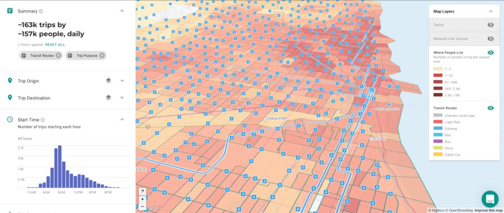 Sidewalk Labs subsidiary Replica's urban planning software