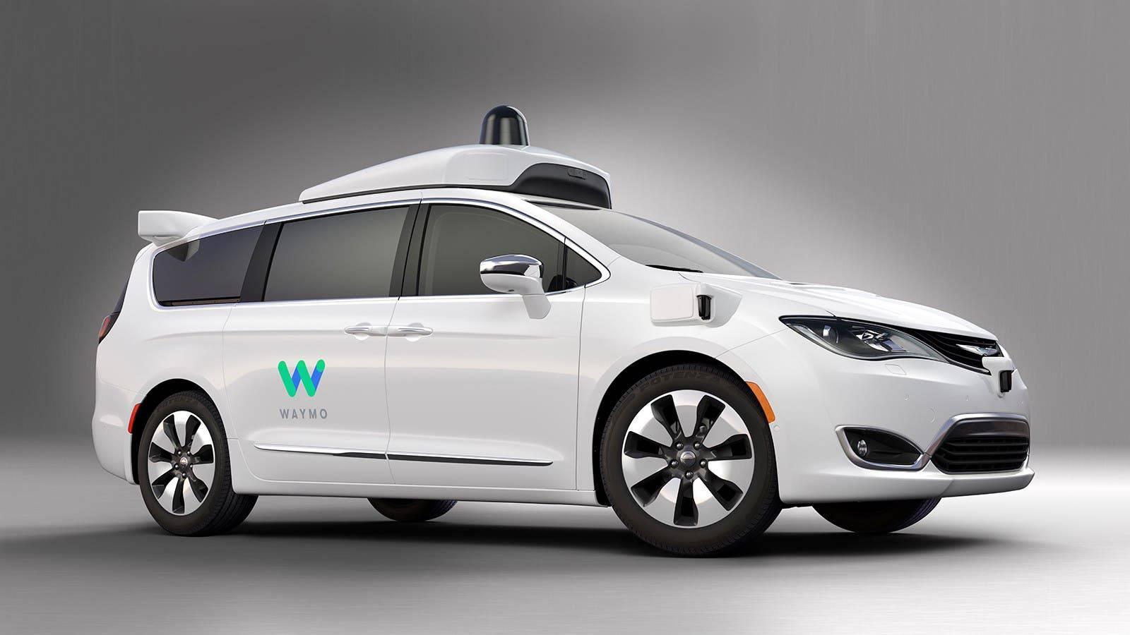 Alphabet's Waymo autonomous car