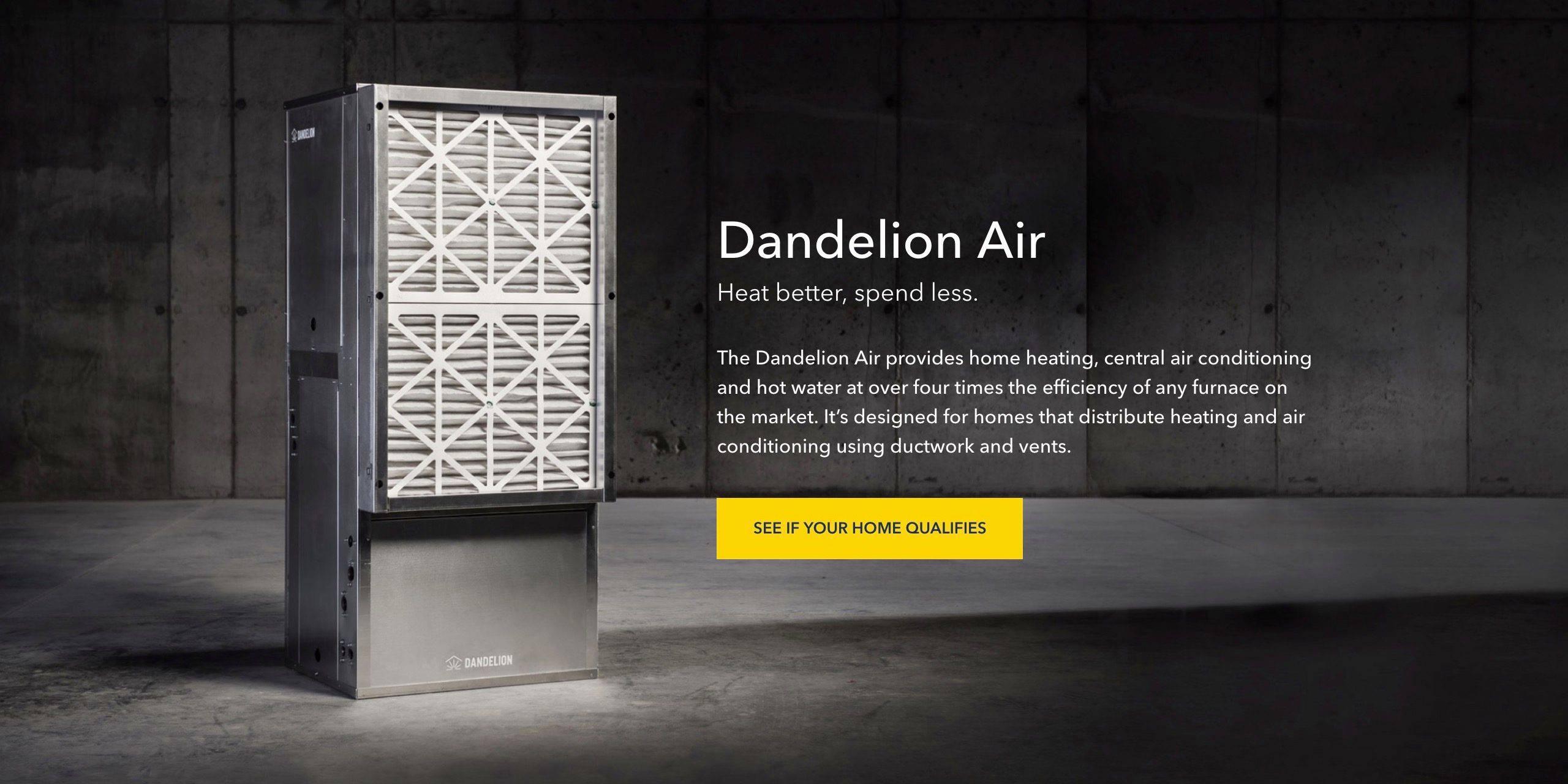 Alphabet's Dandelion air filtration system
