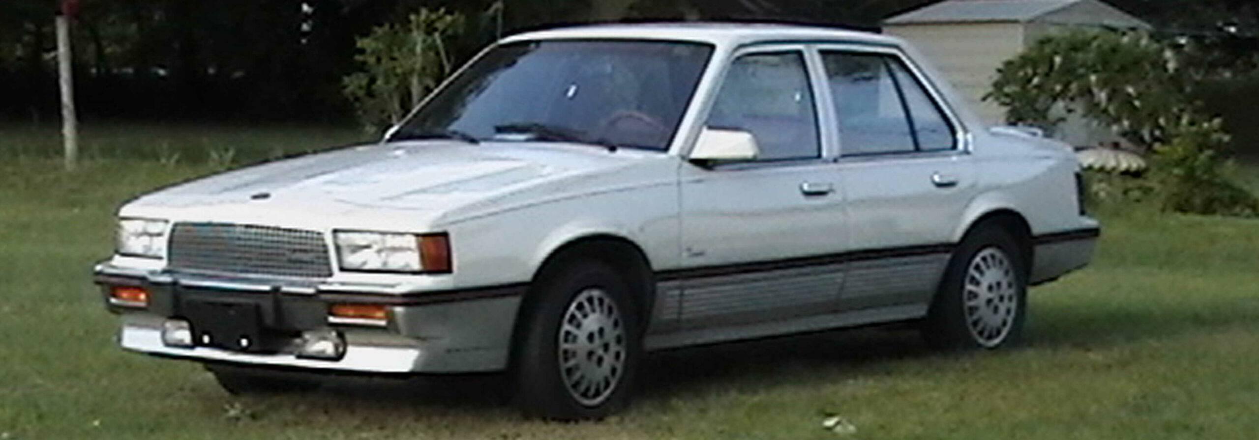 Cadillac's Cimarron car