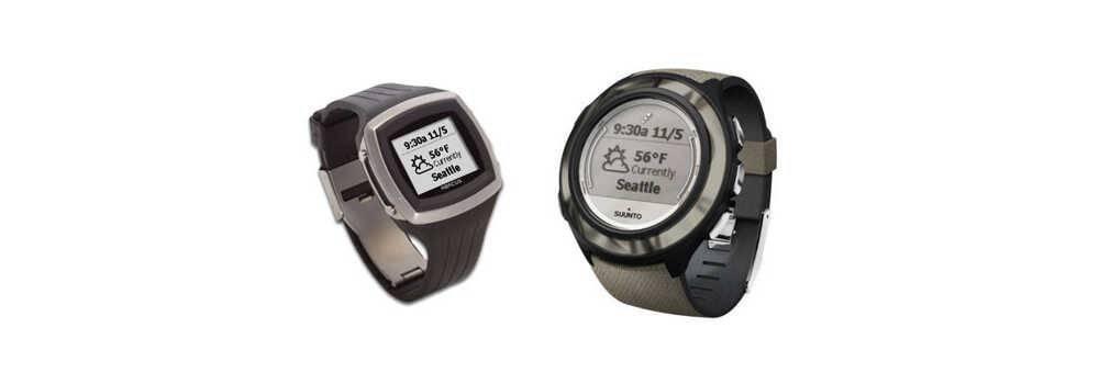 Microsoft's SPOT Watches