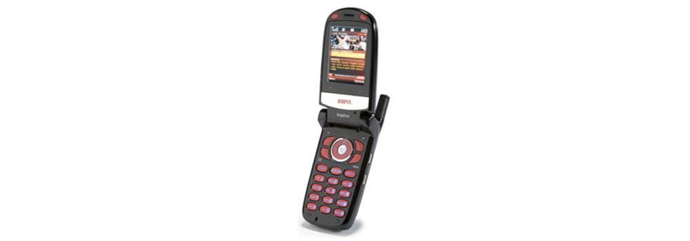 Mobile ESPN flip phone