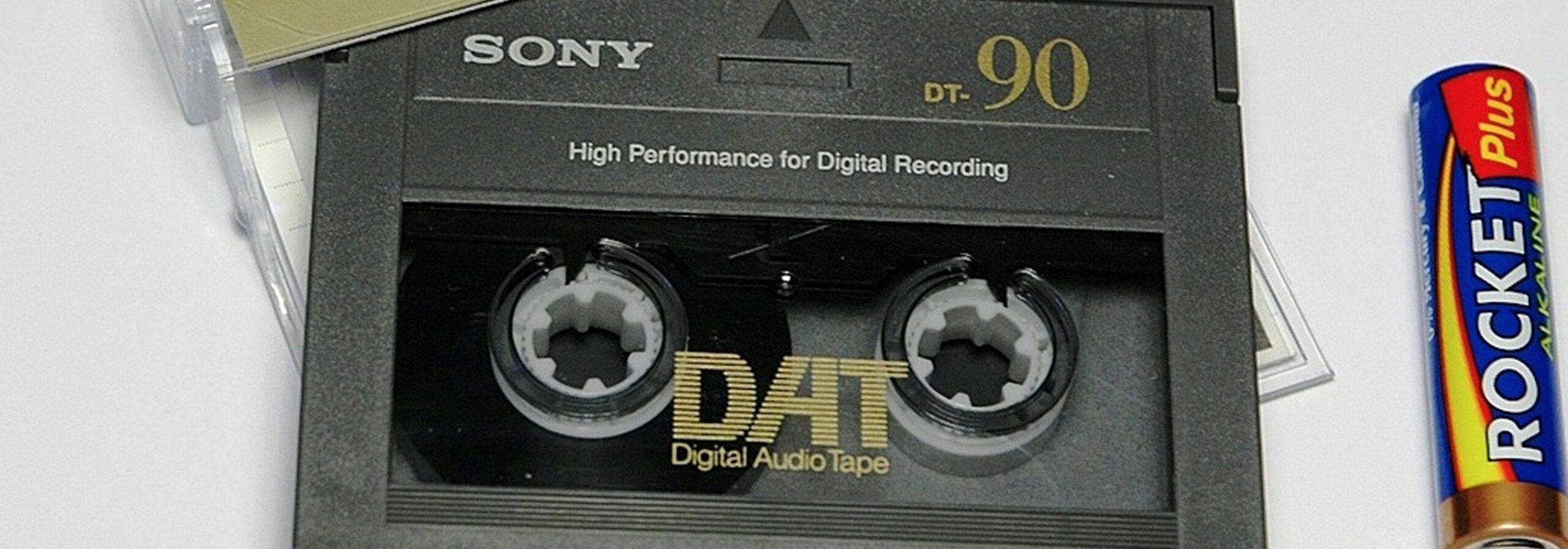 Sony's Digital Audio Tapes
