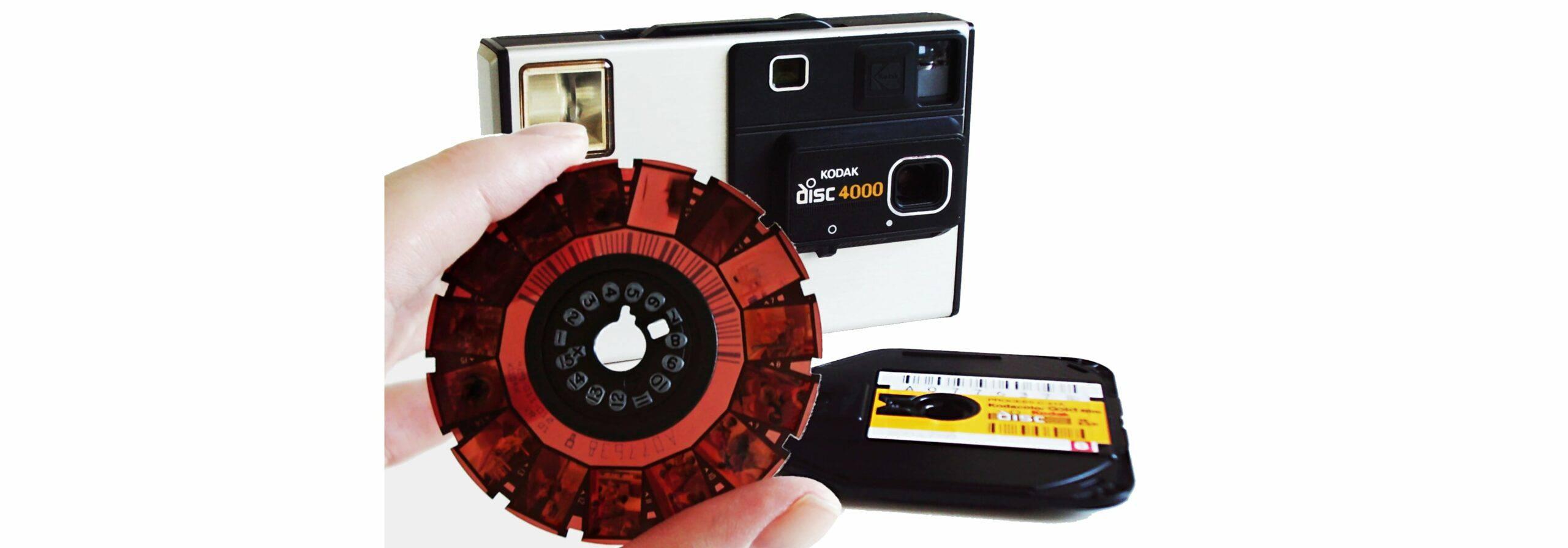 Kodak's Disc 4000 for cameras
