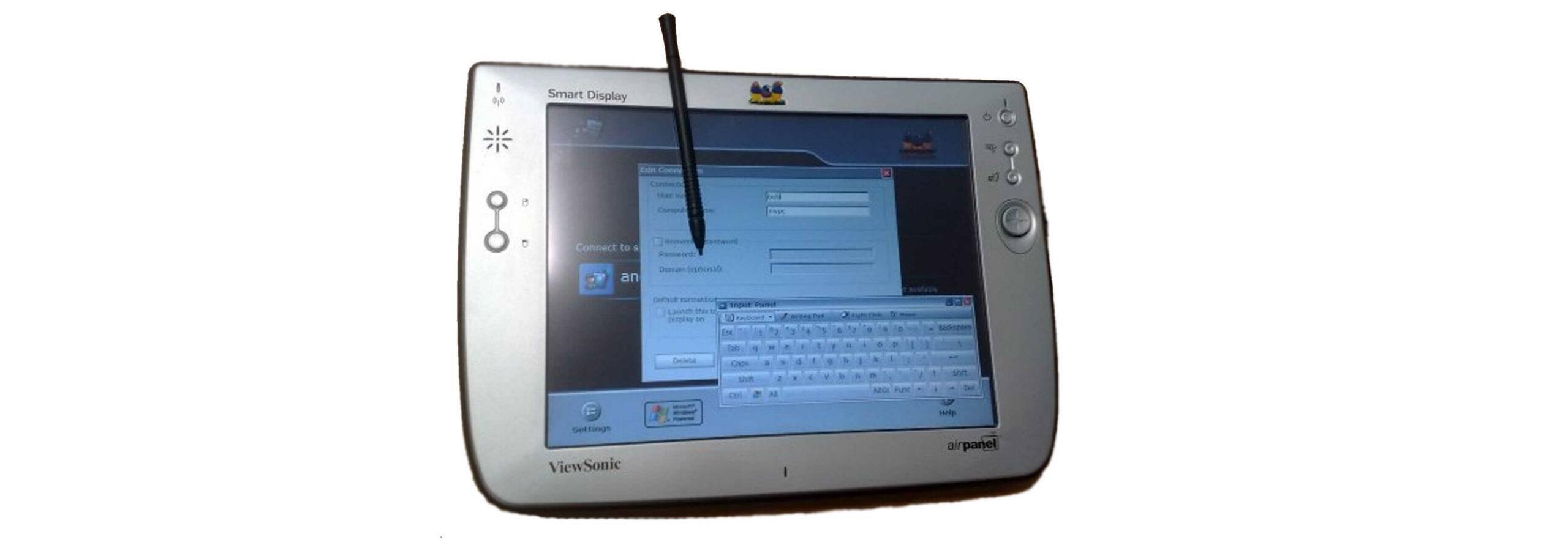 Microsoft's ViewSonic Airpanel Smart Display V110