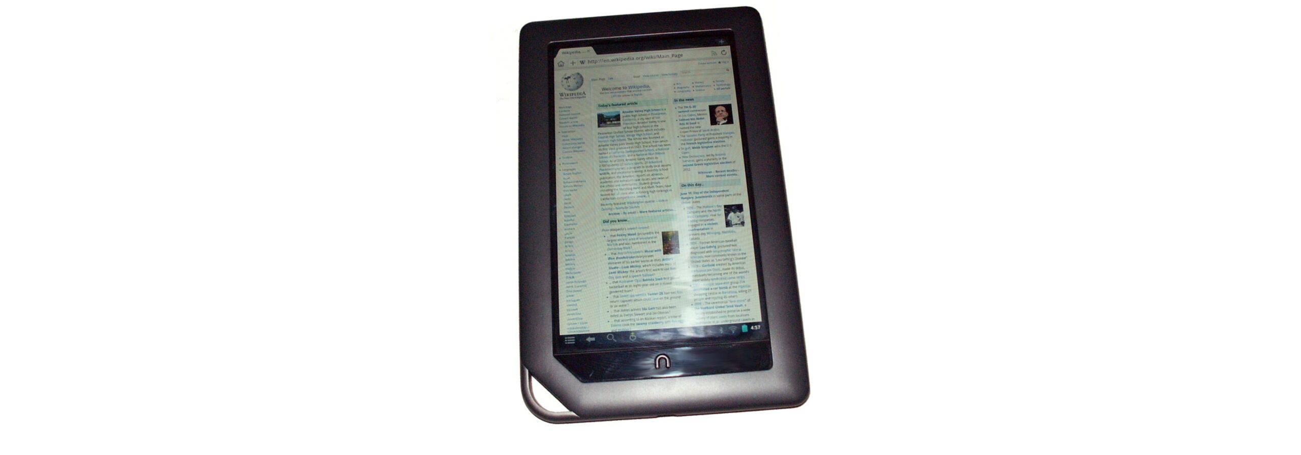 Barnes & Noble's Nook device