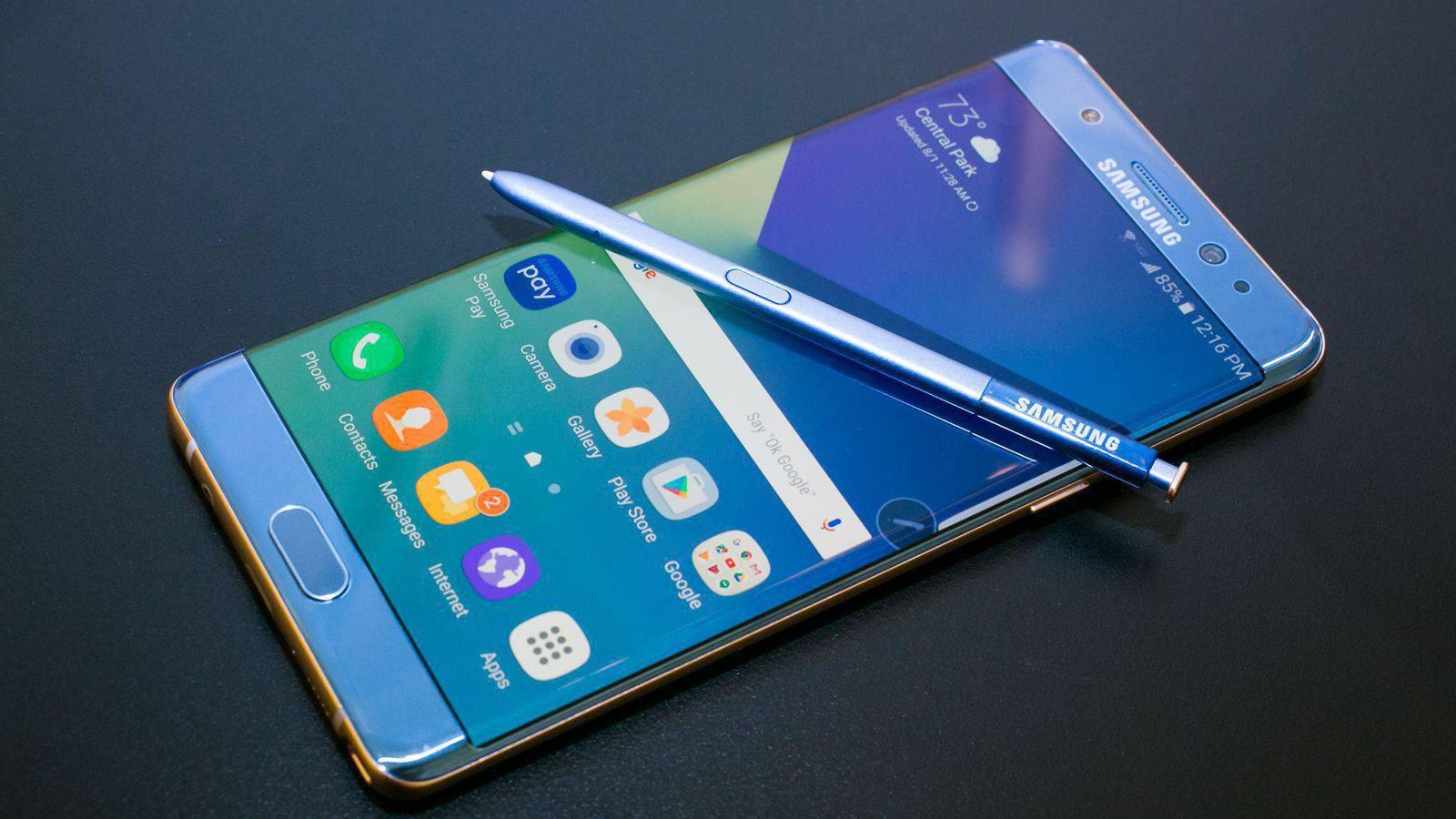 Samsung's Galaxy Note 7 phone