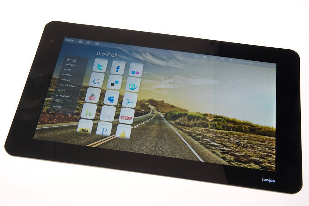 JooJoo Tablet from TechCrunch/Fusion Garage