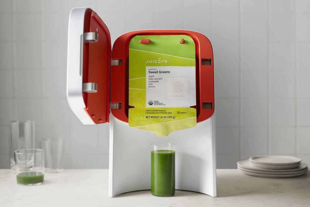 Juicero fresh juicing device