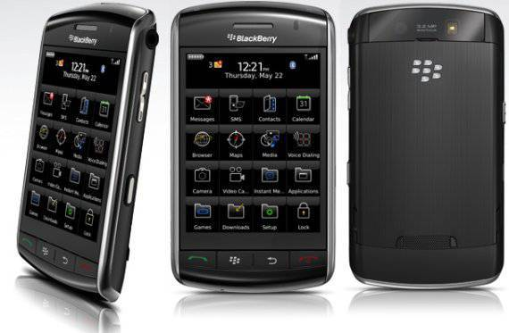 Blackberry Storm phone