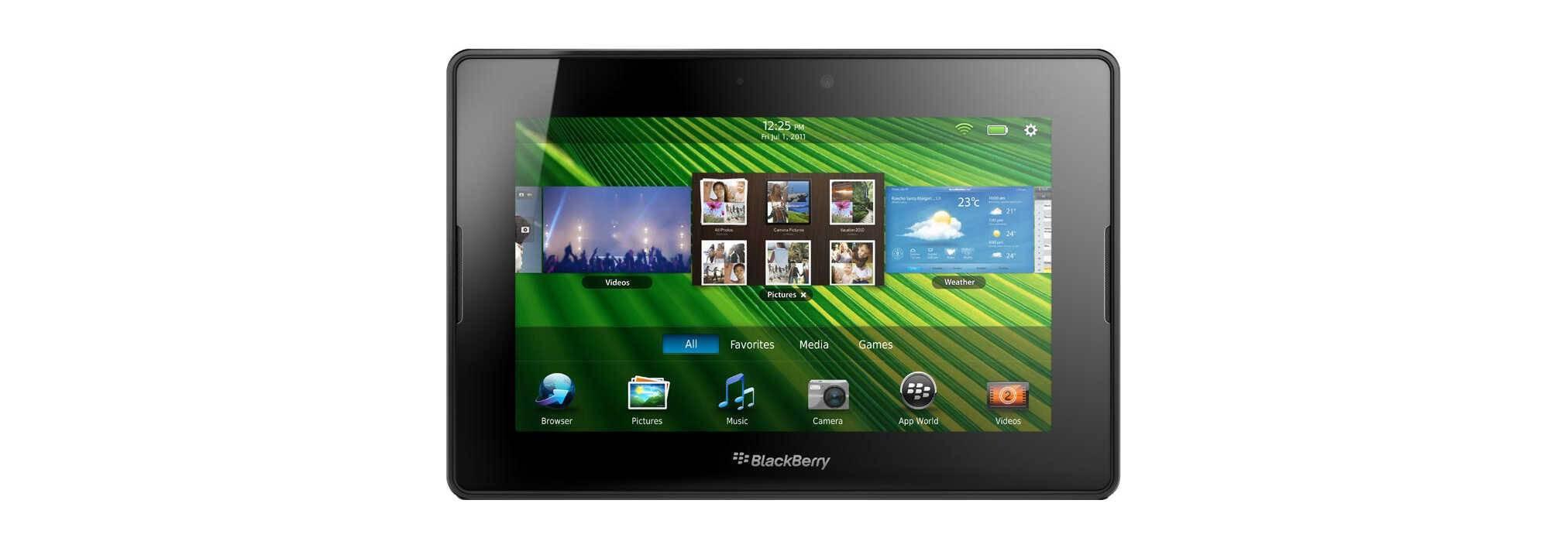 BlackBerry's PlayBook tablet