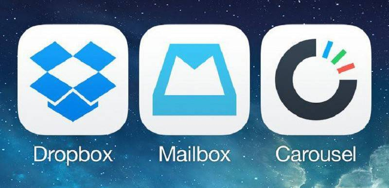 Dropbox's Carousel and Mailbox apps