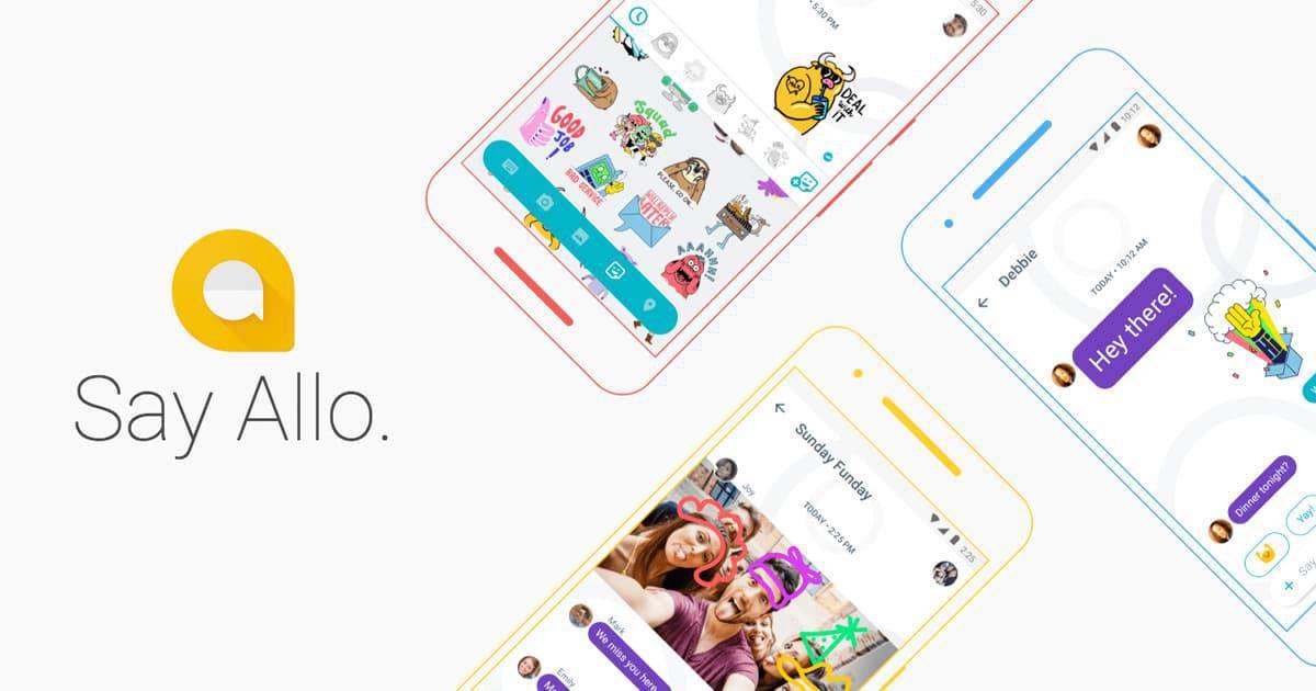 Google Allo messager app