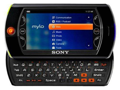 Sony's Mylo instant-messaging and internet-browsing device