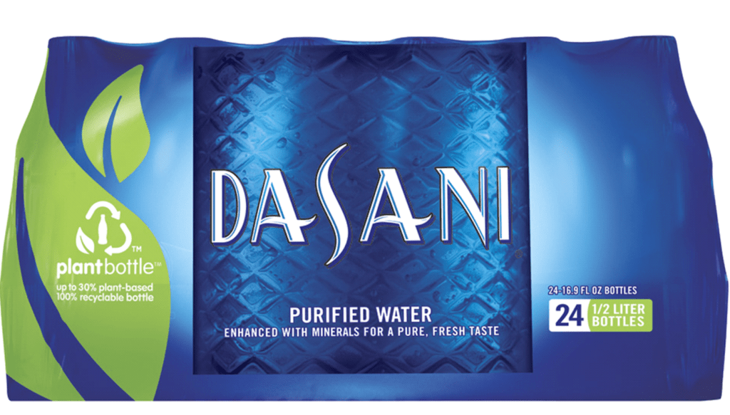 Nestle's Dasani Water