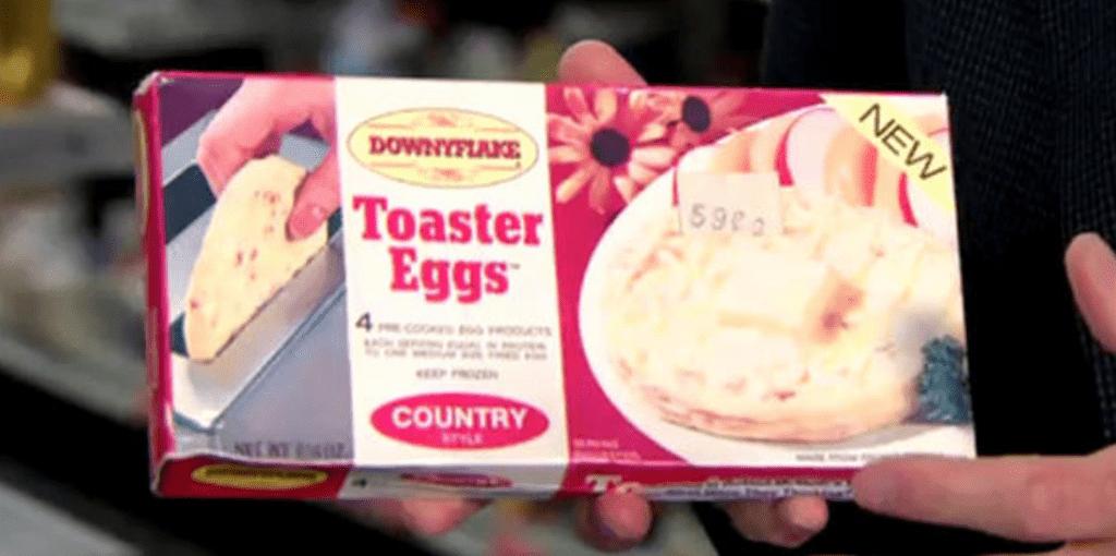Downyflake's Toaster Eggs