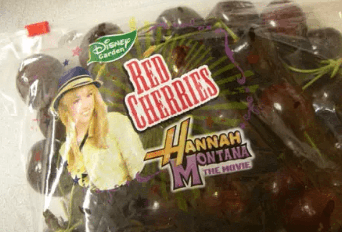 Disney's Hannah Montana Cherries