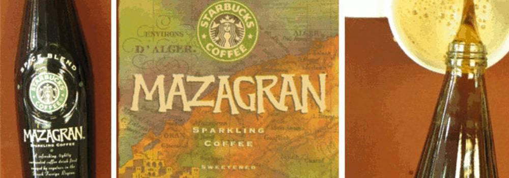 Mazagran beverage from Starbucks/PepsiCo