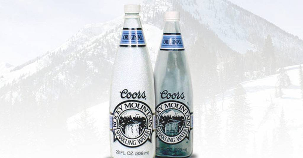 Coors Brewing Company's Rocky Mountain Sparkling Water
