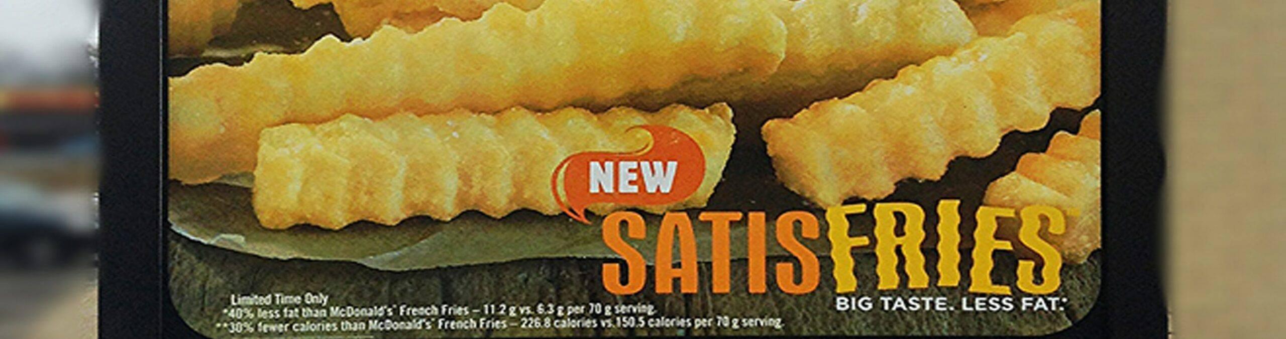 Burger King's Satisfries