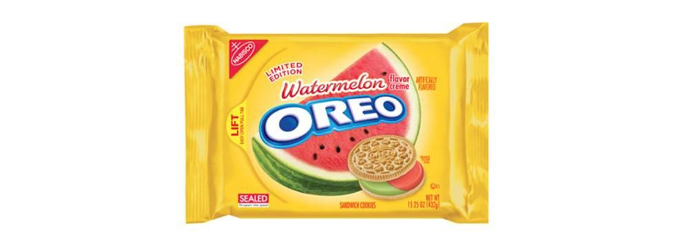 Oreo's Watermelon cookies