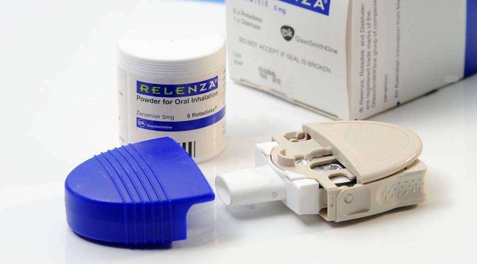 GlaxoSmithKline's Relenza flu medication