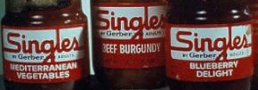 Gerber Singles adult food