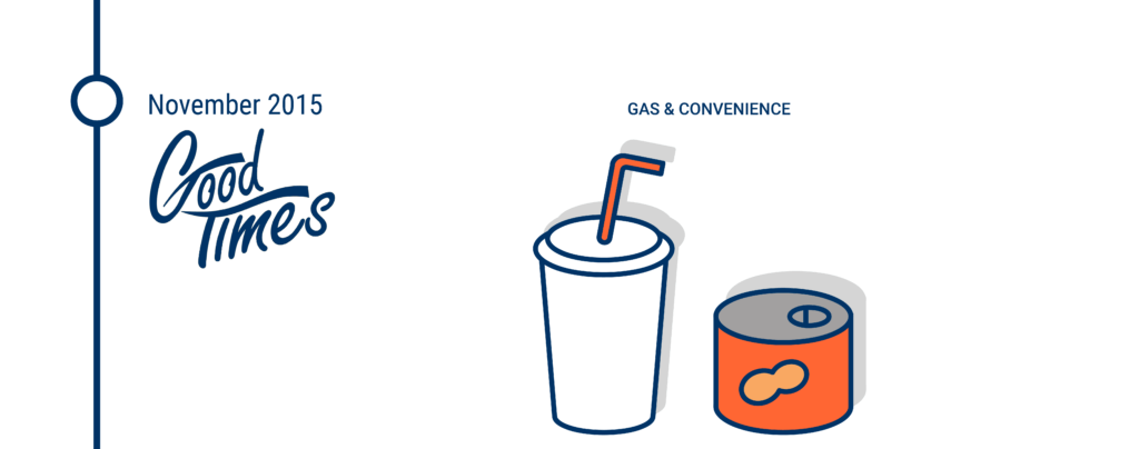 Good Times Convenience Stores filed for bankruptcy in November 2015