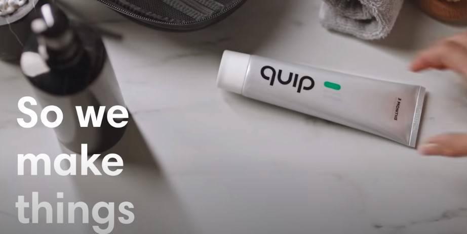 quảng cáo bàn chải đánh răng châm biếm trên YouTube