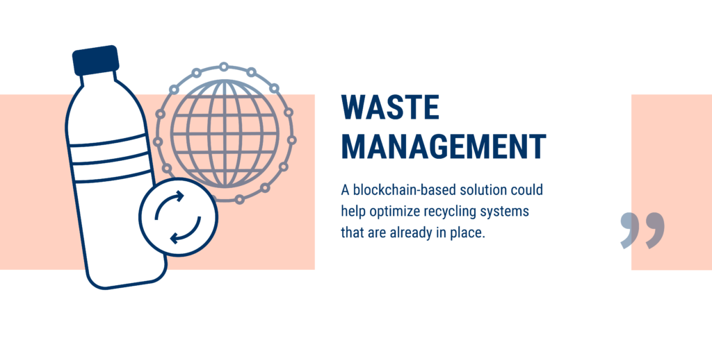 Waste management is being disrupted by blockchain technology