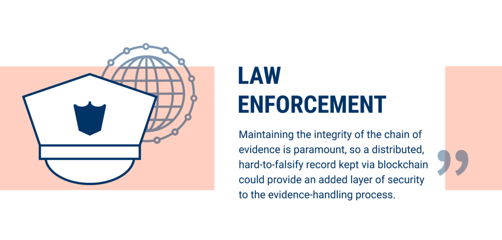 Law enforcement is being disrupted by blockchain technology