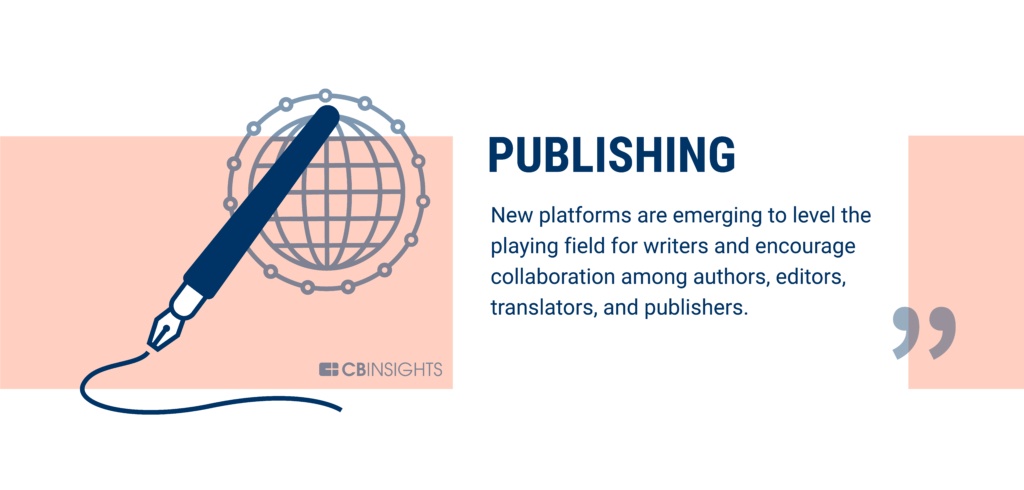 Publishing is being disrupted by blockchain technology