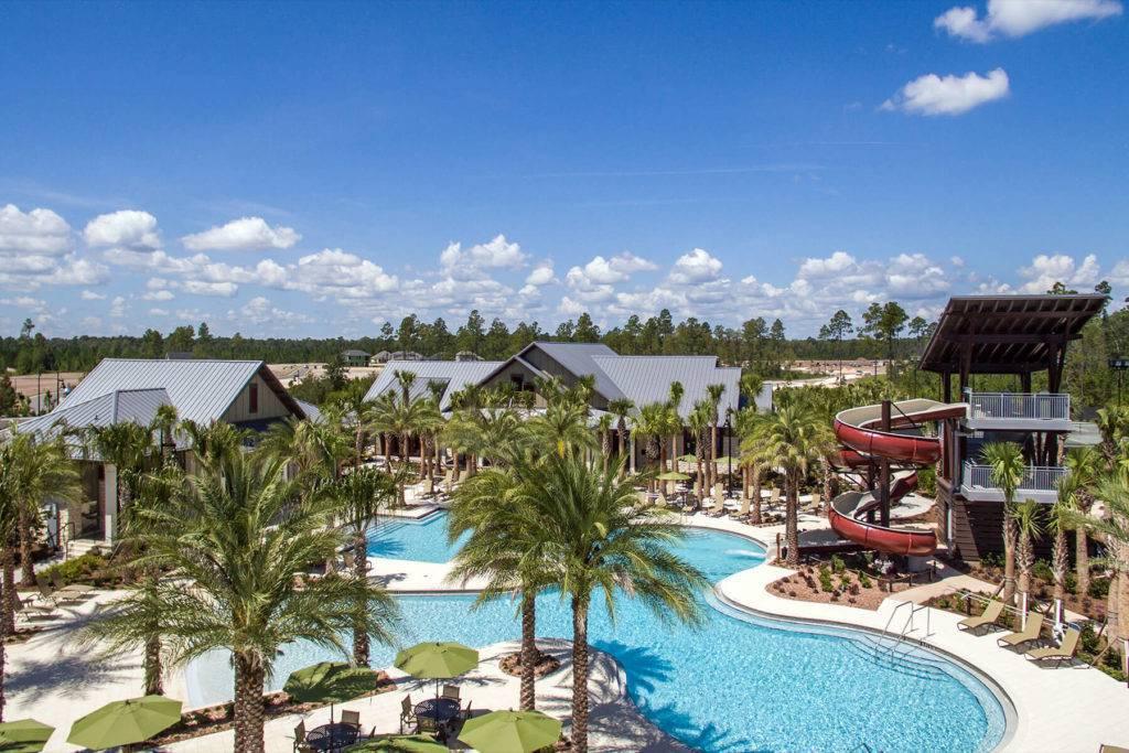 The Shearwater in Florida has luxury outdoor water activities